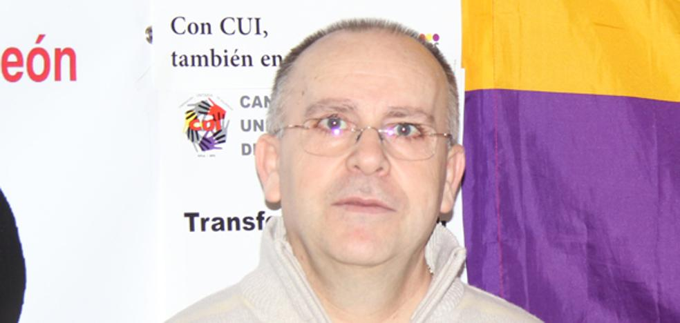 IU-Equo vuelve a presentar a Gregorio García como candidato a la alcaldía de Arévalo