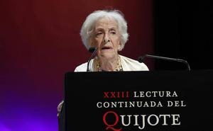La poetisa uruguaya Ida Vitale pasará a formar parte de 'Juzbado Libro Abierto' el próximo día 27