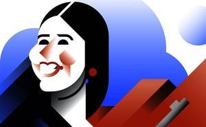 Irene Montero, una portavoza entre robots