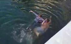Un hombre en libertad bajo fianza salva de ahogarse a una vallisoletana en Puerto Banús