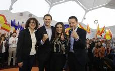 Albert Rivera: «Castilla y León tiene que volver a ocupar el lugar que merece»