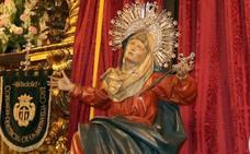 Sustraen la urna de donativos de la Cofradía de la Vera Cruz de Valladolid para la coronación de su imagen