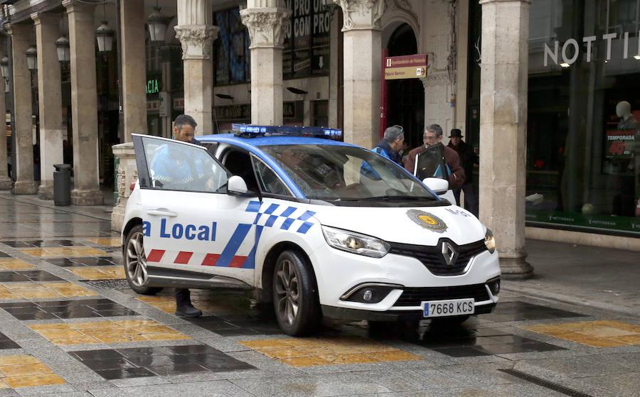 Un conductor se da a la fuga tras un atropello en Palencia