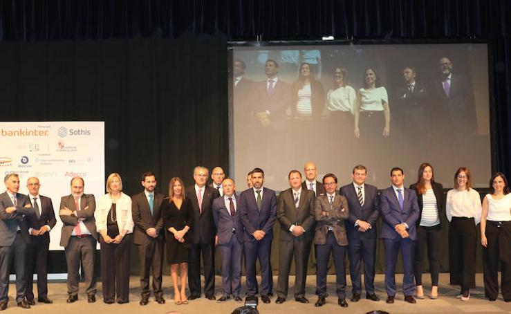 Entrega de premios a los mejores directivos del año de Castilla y León