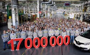 Un Captur se convierte en el vehículo 17 millones que produce la marca francesa en España