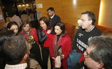 Margarita Robles defiende en Palencia el proyecto del PSOE frente a la «vuelta al pasado» de la derecha