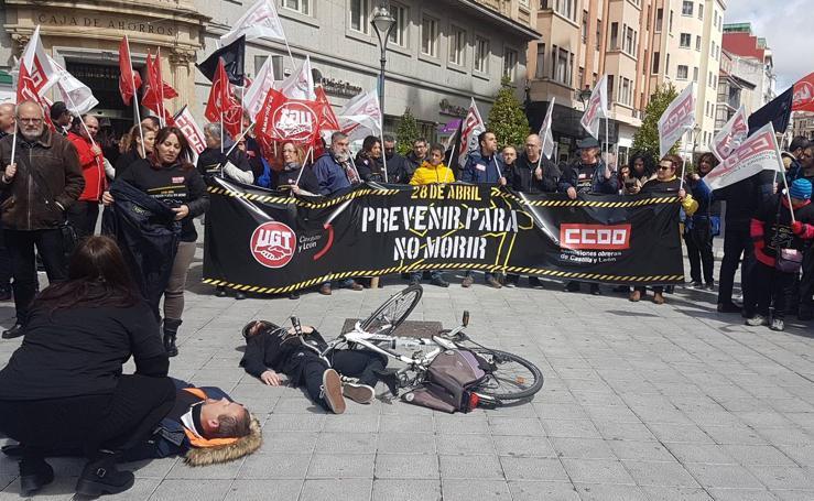 Día Internacional de Salud y Seguridad en el Trabajo en Valladolid