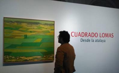 Cuadrado Lomas se despide de la pintura en la sala de Las Francesas