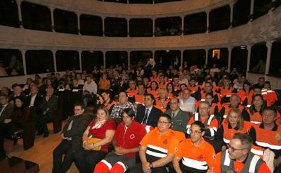 Protección Civil celebra en Palencia el vigésimo quinto aniversario de la agrupación