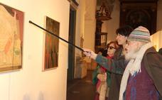 Exposición de Cuadrado Lomas en la Sala de Las Francesas