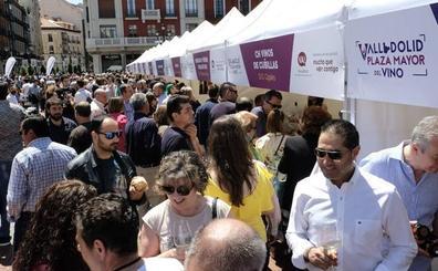 La Plaza Mayor de Valladolid volverá a convertirse en una fiesta alrededor del vino de la provincia