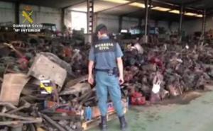 Desarticulan un grupo criminal en Valladolid por el robo con fuerza en explotaciones agrícolas