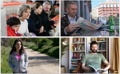 Familia y deporte protagonizan la jornada de reflexión de los candidatos al Congreso por Valladolid