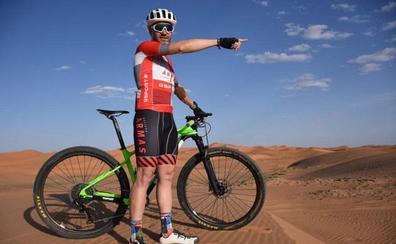 Moisés Dueñas inicia este domingo su tercera participación en la Titan Desert