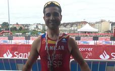 El duatleta charro Ángel Gutiérrez, campeón del mundo en grupos de edad 40-44 en Pontevedra