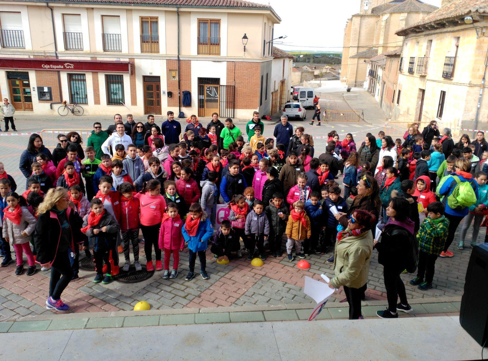 El deporte sale a las calles de Mota del Marqués
