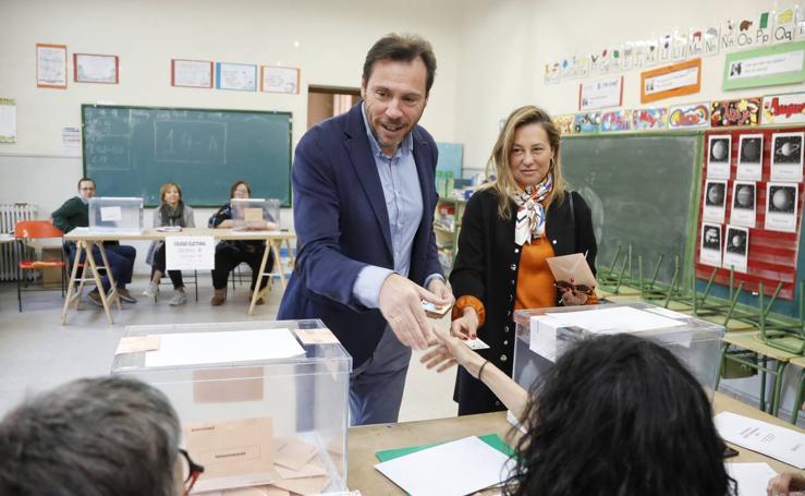 Votaciones de los políticos vallisoletanos