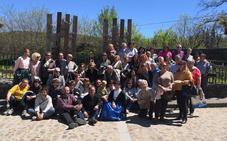 'Jardines Bordados' recuerda la historia y la tradición de la Feria de San Marcos de Cepeda