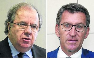 Herrera y Feijóo, en el X Aniversario del Foro Económico de El Norte