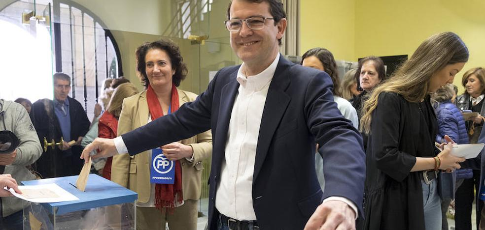 Fernández Mañueco, candidato del PP a la Junta: «Hay que votar pensando en lo que creemos que es mejor para España»