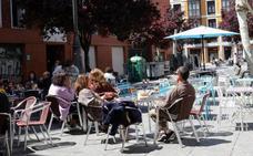 La redistribución de terrazas en Valladolid llegará este año a Cantarranas, Coca y Parque Alameda
