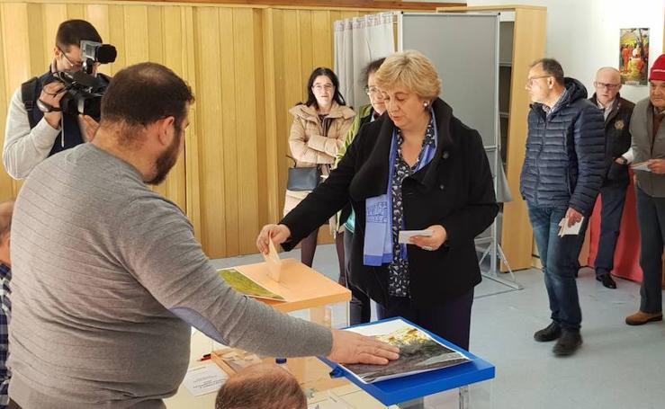 Candidatos al Congreso y al Senado por Soria durante las votaciones