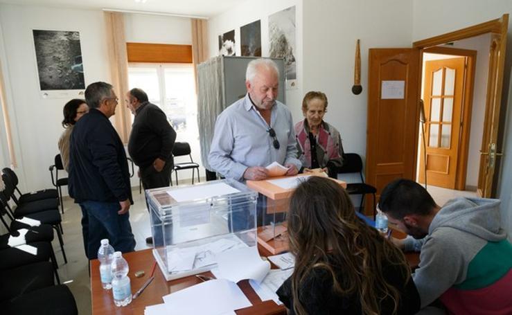 Votaciones en la provincia de Zamora