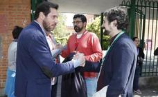El alcalde de Valladolid, Óscar Puente, anima a votar de forma «masiva» para que España pueda «avanzar»
