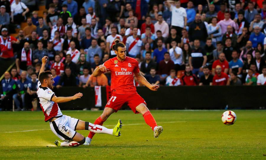El Rayo Vallecano-Real Madrid, en imágenes