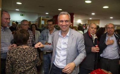 Izquierdo elogia el «magnífico resultado» del PSOE en Valladolid