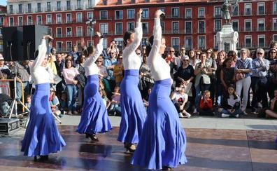 Danza escolar por los refugiados en Valladolid