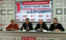 Los sindicatos llaman a la movilización en el 1º de Mayo más ilusionante de los últimos años
