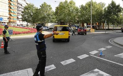 Denuncian a un conductor por dar positivo en un control en Palencia y faltar al respeto a la Policía