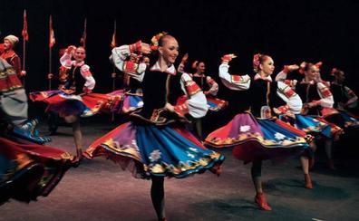 El espectáculo de danza 'Leyendas Cosacas', el jueves en el Carrión