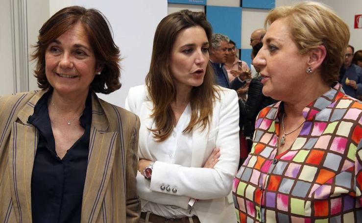 La noche electoral en las sedes de los principales partidos de Segovia