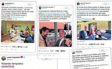 Los candidatos llevaron las urnas a las redes sociales