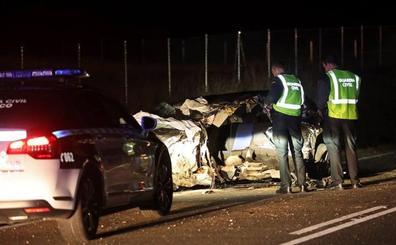 La muerte de tres personas en accidente de tráfico tiñe de luto Hinojosa y Villaseco