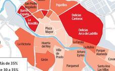La izquierda afronta las municipales de Valladolid con menos votos que la suma del centro derecha