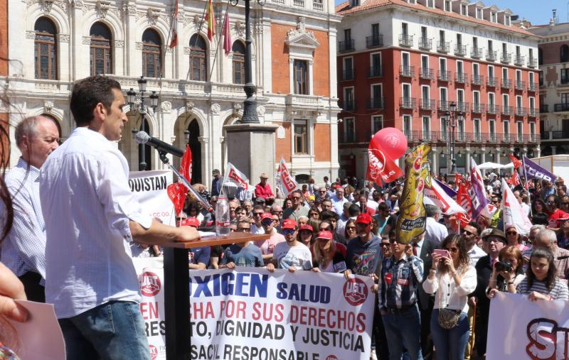 Miles de vallisoletanos urgen a la derogación de la reforma laboral