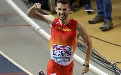 Álvaro de Arriba disputa este viernes la Diamond League en Doha