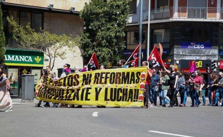 Manifestación del 1 de mayo en Salamanca