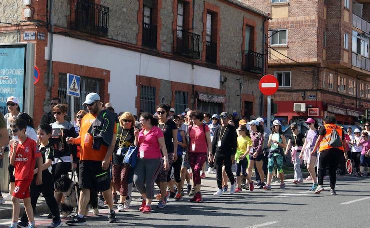 Caminata solidaria de San Lorenzo