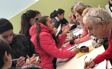 Alumnos de Pajarillos ayudarán a los del medio rural a reseñar sus «zonas felices» en un mapa