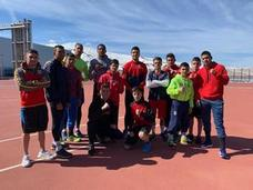Seis púgiles del Club Boxeo Valladolid, con el equipo nacional
