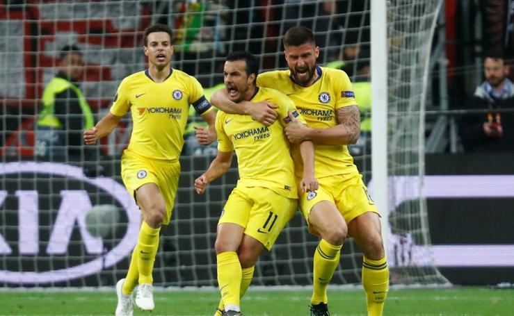 Las mejores imágenes del Eintracht-Chelsea