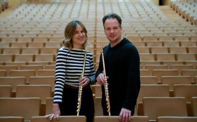 Duelo de flautistas con la OSCyL de madrina