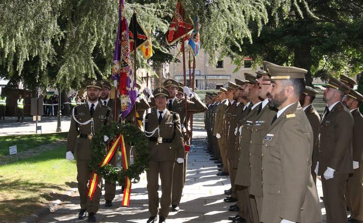 Celebración del Dos de Mayo en el Alcázar de Segovia