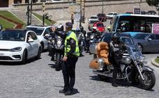 Segovia colapsada con retenciones de hasta treinta minutos