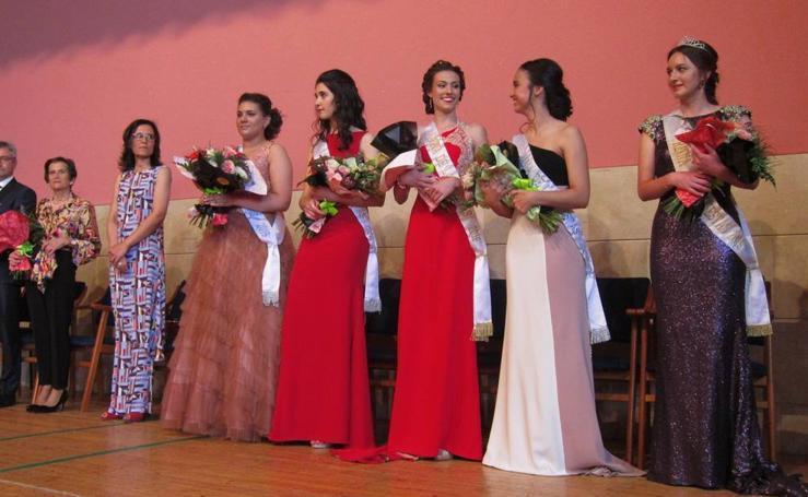 Coronación de la reina y las damas de las fiestas de Villabrabrágima
