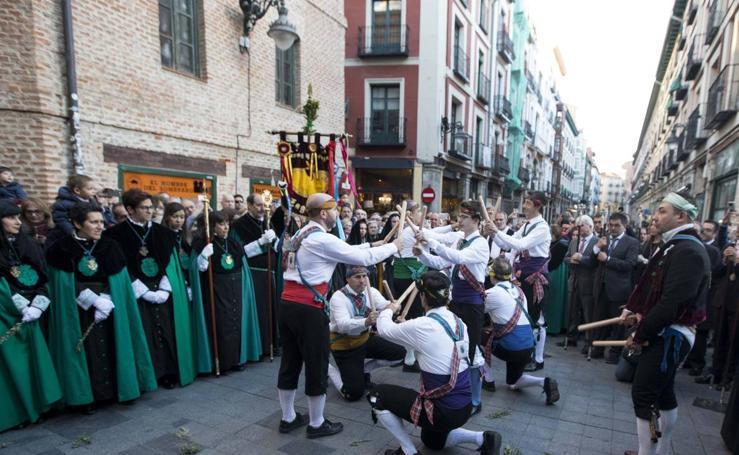 Procesión de la Iglesia de la Vera Cruz en Valladolid